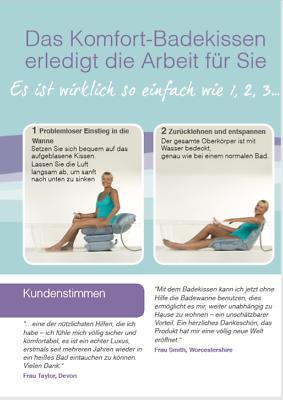 Badewannenlifter Wannenlift Badelift Lifter Einstiegshilfe Badehilfe Badekissen
