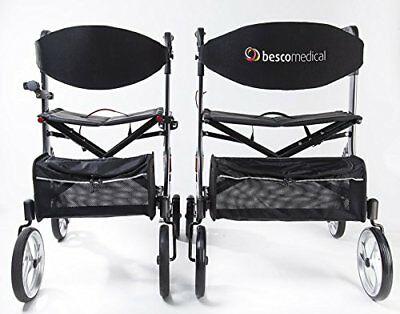 Besco Medical Faltbarer Alu-Leichtgewicht-Rollator Besco Medical Spring XL, mit