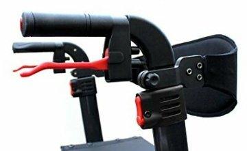 Besco Medical Faltbarer Leichtgewicht-Rollator Spring, Gr. M, aus Aluminium, kl