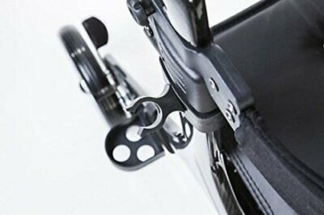 bescomedical  Faltbarer Leichtgewicht-Rollator Carbon, besonders leicht (4,8