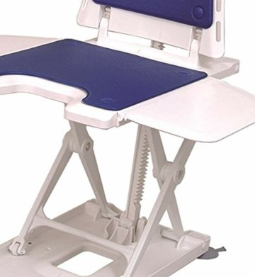 Drive Medical Badewannenlifter Bellavita mit Bezug Classic weiß Senior Mobility