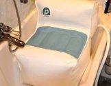PROFLEX Badewannenlift mit Luftpolster Badekissen Einstiegshilfe Badehilfe