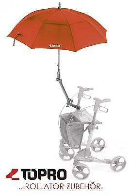 Schirm für Rollator TOPRO rot