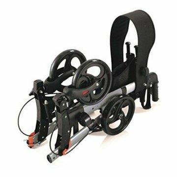 Wollex Alu Leichtgewichtrollator faltbar mit standard Ausstattung (WG-R966)