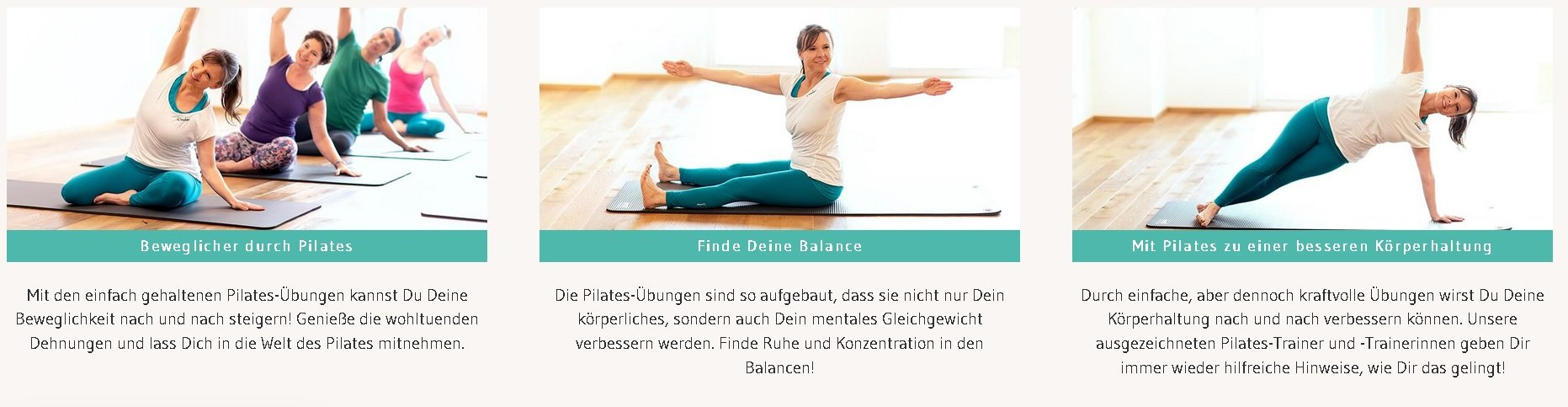 Das virtuelle Pilates-Studio
